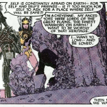 "Because I was raised by bleeding-heart feminists in the '80s, I now have ""Free to Be... You and Me"" stuck in my head. THANKS, CLAREMONT. (X-Men Annual #9)"