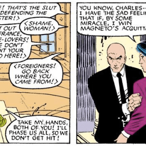 Let's all take a moment to appreciate Kitty's hella sweet outfit. (Uncanny X-Men #200)
