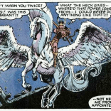 Dani is THE BEST VALKYRIE. (X-Men Annual #9)