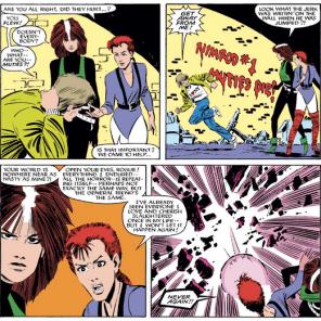 Awkward. (Uncanny X-Men #196)