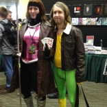 Rule 63 Rogue and Gambit. There were a LOT of Rogues and Gambits.