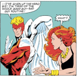 """""""Seriously, Warren, you are LITERALLY WEARING A SUPERHERO COSTUME RIGHT NOW."""" (X-Factor #1)"""