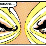 Sienkiewicz eyebrows are the best eyebrows. (New Mutants #35)