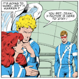 """I mean, it's been solicited as an ongoing, and everything."" (X-Factor #1)"