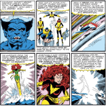 Beast X-plains the Dark Phoenix Saga. (Fantastic Four #286)