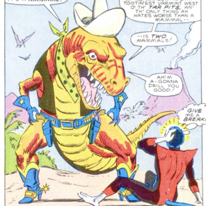 CRETACEOUS SAM, WE LOVE YOU. (Nightcrawler #4)