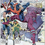 They're fighting Tower and knocking down a wall at the same time! Two drinks! (X-Factor #4)