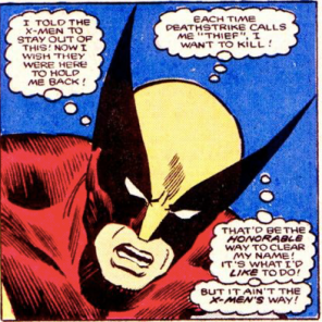 Yer a good kid, Wolverine. (Alpha Flight #34)