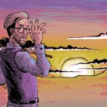 Many thanks to Bobby Roberts for 57 spectacular episodes of production, advice, and boundless patience. You are the best, and we love you forever. (Art by David Wynne.)
