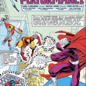 Danger Room open. Take a drink. (X-Men Annual #10)