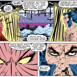 Neither of you is wrong. You're just both assholes. (Uncanny X-Men #207)
