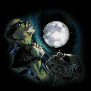 You only have two more days to get June's shirt of the month: Three Wolverine Moon, by Tyler Crook!