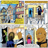 The outfits in this arc are just 100% amazing. (Uncanny X-Men #206)