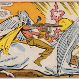 Future Mirage is METAL AS HELL. (New Mutants #48)