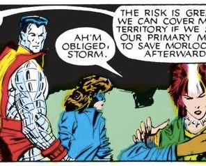 STORM, NO! DON'T SPLIT THE PARTY! (Uncanny X-Men #211)