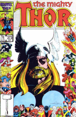BEHOLD THIS MAJESTIC THUNDER GOD AND HIS MAJESTIC BEARD! (The Mighty Thor #373)