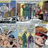 """""""An invitation to a crossover? Hot dog!"""" (X-Factor #8)"""