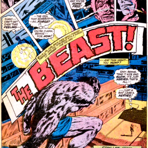 Just another 70's monster comic. You'd never know it was about an X-Man. (Amazing Adventures #11)
