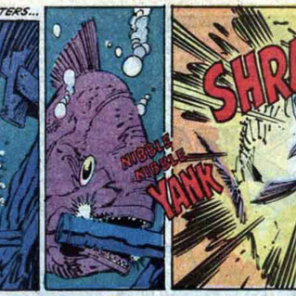 I can't figure out what kind of fish this is supposed to be, and it's really bothering me. (X-Factor #13)