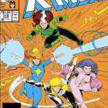 I don't know if there's a word for what's going on with Rogue's hair, but it is AMAZING. (Uncanny X-Men #218)