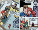 Even Rusty and Skids can't look away from the amazing soap opera. (X-Factor #14)