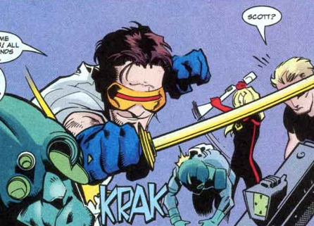 Mutant X Cyclops is the best Cyclops.