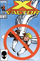 This cover is kind of hilarious. (X-Factor #15)