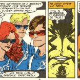"""""""If they'd learned anything from me, they'd be faking their own deaths!"""" (New Mutants #51)"""