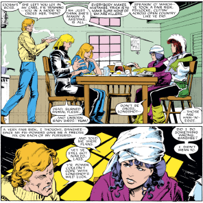 Banshee is good at adulting. (Uncanny X-Men #217)