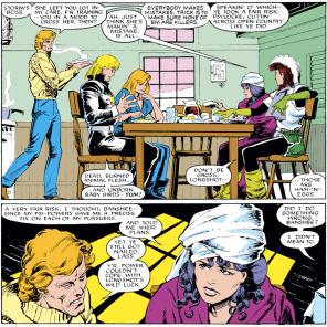 Banshee is good at adulting. (Uncanny X-Men #217)