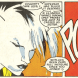 Kevin Nowlan draws a rad Hepzibah. (New Mutants #51)