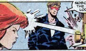 X-Factor: Trained superheroes; still haven't really gotten the hang of doors. (X-Factor #12)