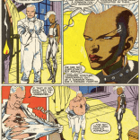 """""""Well, I should probably see what the study group thinks, but I'm thinking fuchsia."""" (New Mutants #51)"""