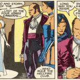 Sebastian Shaw takes dress codes seriously. (New Mutants #51)