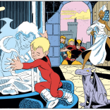 Aw, Kitty and Franklin. (Fantastic Four Versus the X-men #3)