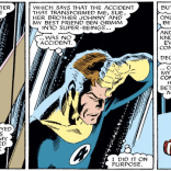 Reed Richards is his own unreliable narrator. (Fantastic Four Versus the X-men #3)
