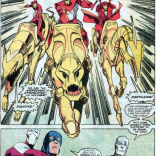THOSE ARE NOT HORSES. Awesome, but not horses. (X-Factor #19)