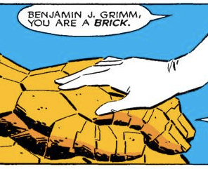 AWWWW. (Fantastic Four Versus the X-men #4)