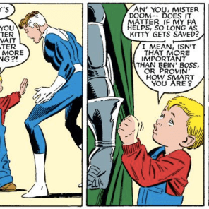 Franklin Richards: Normal Human Meat Child. (Fantastic Four Versus the X-men #4)