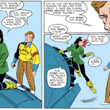 """Also, you really need to learn to dress better, because this is just embarrassing."" (Fantastic Four Versus the X-men #1)"