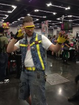 Punk Cyclops was one of our favorite cosplays of the show.