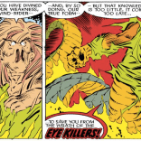 In case you need an additional reason not to masturbate with a cactus: apparently that's how you get eye-killers. (Uncanny X-Men #222)