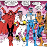 Graduation costumes: definitely still terrible. (New Mutants Annual #3)