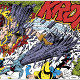 "The best thing about this panel is Wolverine's understated ""Geez."" (X-Men Annual #3)"