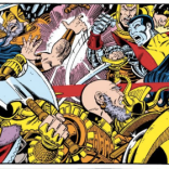 Things that are not awesome about this fight panel: NONE OF THEM. (X-Men Annual #3)