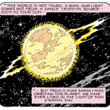 This planet sucks. (X-Men Annual #3)