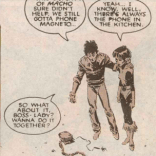 Aw, man. These kids. (New Mutants #61)