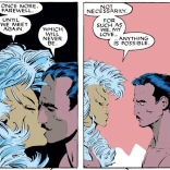 """""""I mean, c'mon, dude. We're in a superhero comic. You really think this is gonna last?"""" (Uncanny X-Men #227)"""