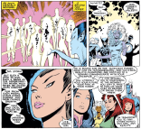 "Somewhere in the multiverse, the X-Men were like, ""Fuck it. Let's just go to Disneyland."" (Uncanny X-Men #227)"