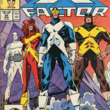 Look at those sharp new costumes! (X-Factor #26)